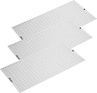 Replacement Cutting Mat Transparent Adhesive Mat with Measuring Grid 12 * 24 Inch for Silhouette Cameo Cricut Explore Plot...