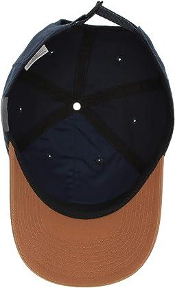 Collegiate Navy/Caramel/Round Patch