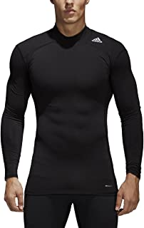 adidas Mens Training Techfit Baselayer Mockneck