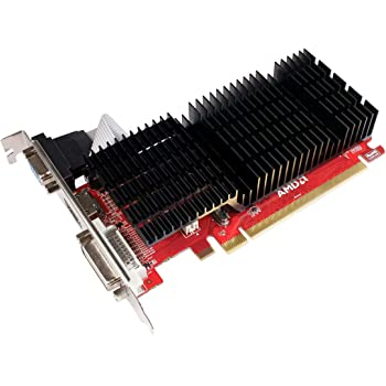 Diamond Multimedia AMD Radeon HD 5450 PCI Express GDDR3 1GB (DVI, HDMI, VGA) Low Profile Enhanced Heatsink Video Graphics Card (5450PE31G)