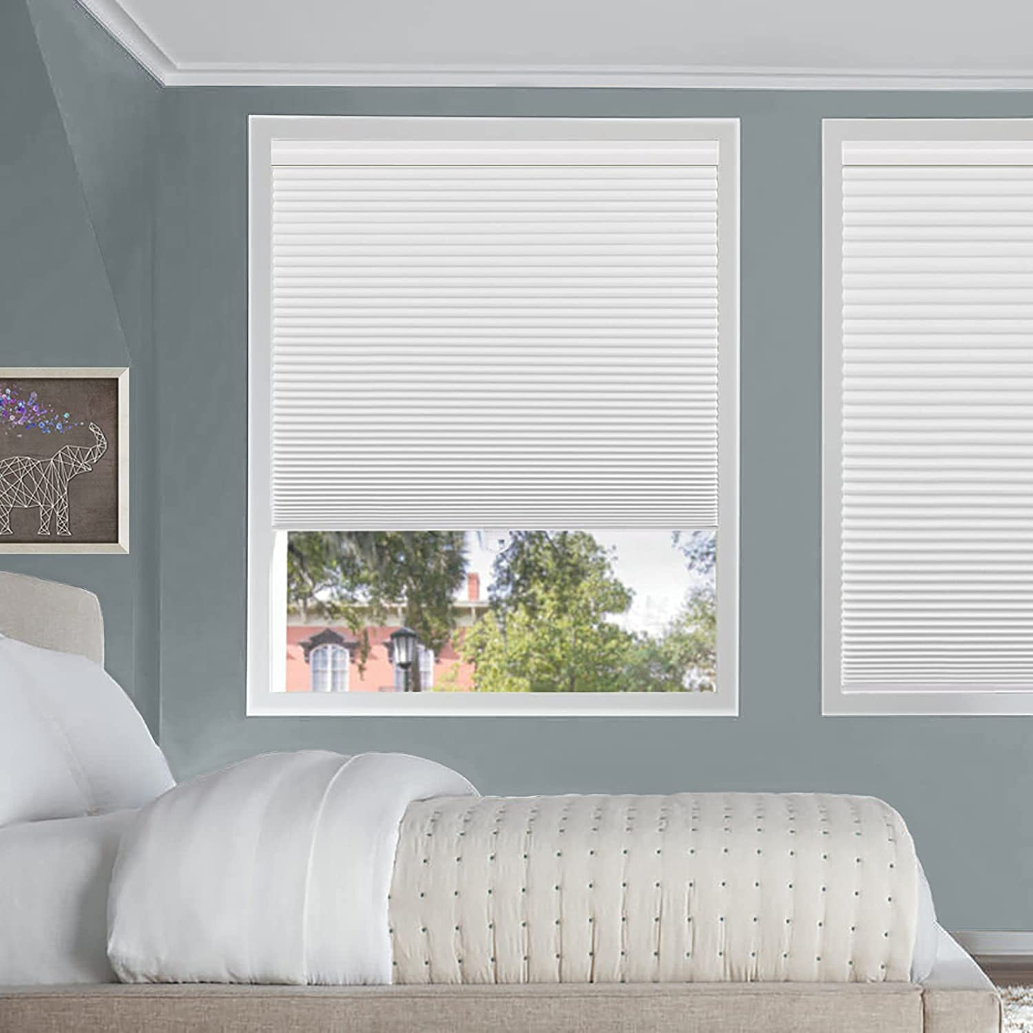 Cellular Shades Max 66% OFF for Windows and Doors- Cord No Total Blackout Ho OFFicial store