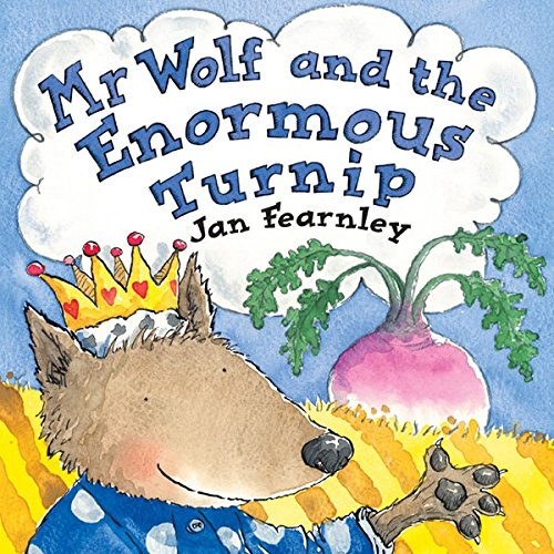 Mr Wolf and the Enormous Turnip cover art