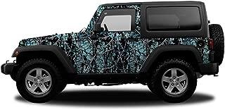 Camowraps PJKSER Jeep/SUV Kit 3M Cast Vinyl/Matte Lam-Sirphis Muddy Girl Serenity Camo Graphics Wrap