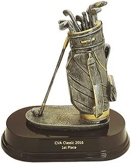 Golf Bag Trophy - 7.5
