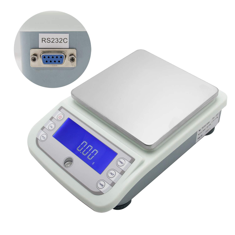 CGOLDENWALL 5000g 5kg 0.01g Laboratorio Balanza Analítica Digital Precisión Electrónica Contador analítico Calibración automática Escala comercial Alta precisión