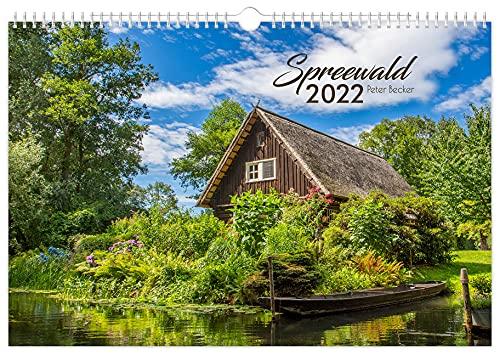 Kalender Spreewald 2022 | Peter Becker | 45 x 30 cm
