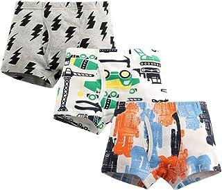 Paquete de 3 Niño Calzoncillos de Algodón Mujer Bóxers Super suave Surtido Ropa Interior 2-3 Años