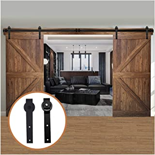 double barn door closet