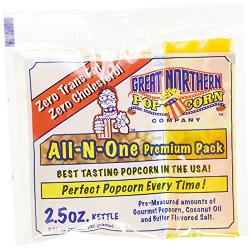 Find Bargain Great Northern Popcorn Case (24) of 2.5 Ounce Popcorn Portion Packs 2 1/2 Ounce