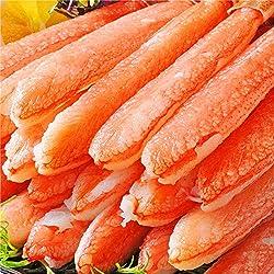 刺身用 超希少 7L~8L 特大18cm 極太 本ズワイガニポーション ずわい蟹 かにしゃぶ カニむき身 カニポーション 特大 ギフト 数量限定 (500g 10~15本)