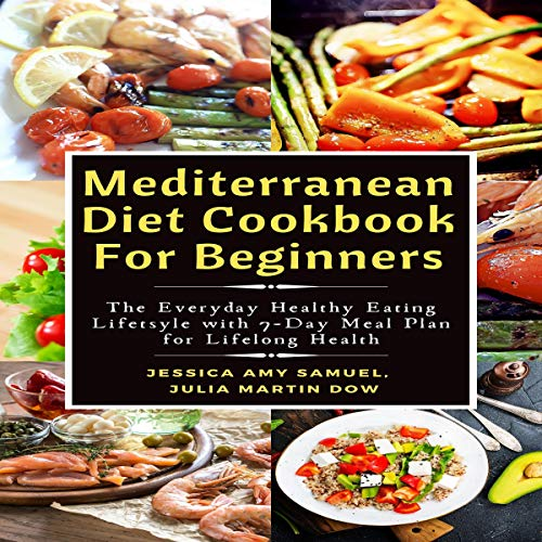 Mediterranean Diet Cookbook for Beginners cover art