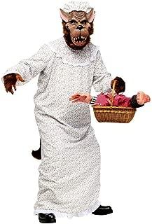 Men's Big Bad Wolf Granny Costume