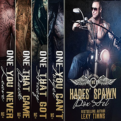 Hades' Spawn MC Complete Series audiobook cover art