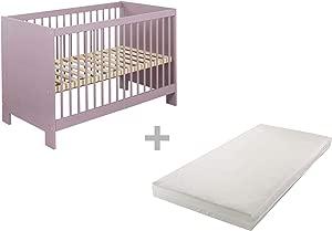 BioKinder 22821 Savings set  Niklas Babybed 60x120 and mattress  Biological wood