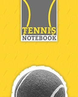 "Tennis Notebook: Lined Racket Sport Notebook (8"" x 10"") 100 Pages Best Tennis Journal for Tennis Sport Supporter"