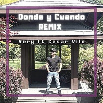 DONDE Y CUANDO