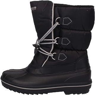 Campri Mens Snow Drift Boots Adjustable Fastening Warm Drawstring