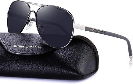9868d9e10a MERRY S Men s Polarized Driving Sunglasses For Men Unbreakable Frame UV400  S8513