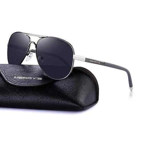 00d5cebc8a4 MERRY S Men s Polarized Driving Sunglasses For Men Unbreakable Frame UV400  S8513