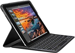 Logitech Create - Funda con teclado inalámbrico retroiluminado y tecnología Smart Connector para iPad Pro 9.7