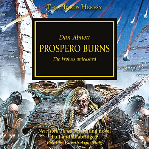 Prospero Burns audiobook cover art