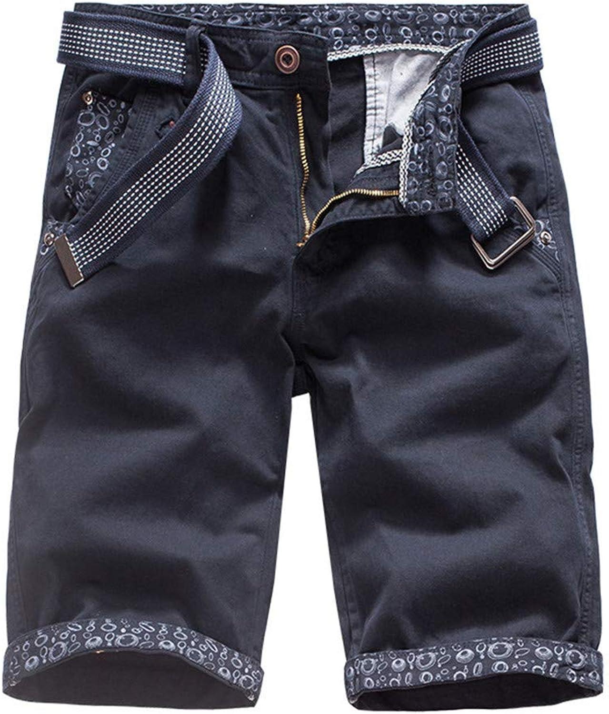 7f85be841c508 Dffg455u Dffg455u Dffg455u Mens Casual Pure color Outdoors Pocket Beach  Work Trouser Cargo Shorts Pant a3da82