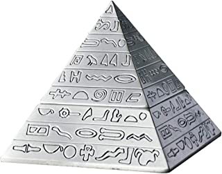 Ashtray Elegant Ashtray Retro Pyramid Ashtray with Lid,Self-Extinguishing Ashtray,Unique Gifts or Home Decorative Art