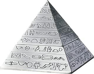 OILP Ashtray Elegant Ashtray Retro Pyramid Ashtray with Lid,Self-Extinguishing Ashtray,Unique Gifts or Home Decorative Art