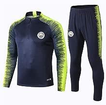 WigColtd Sportbekleidung Schweißabsorbierender, Atmungsaktiver Trainingsanzug Für Langärmlige Fußball-Sportbekleidung