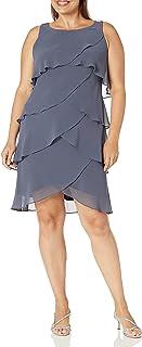 اس.ال فستان نسائي متعدد الطبقات بمقاس كبير من فاشونز