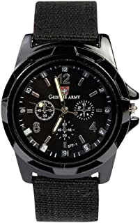 Best gemius army black wrist watch Reviews