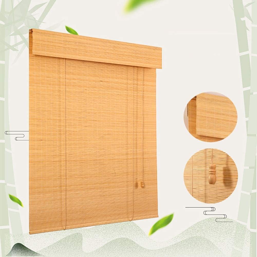 Rapid rise LIANGJUN Bamboo Curtain Roller Blind Window Shades W Tight Roman Max 74% OFF