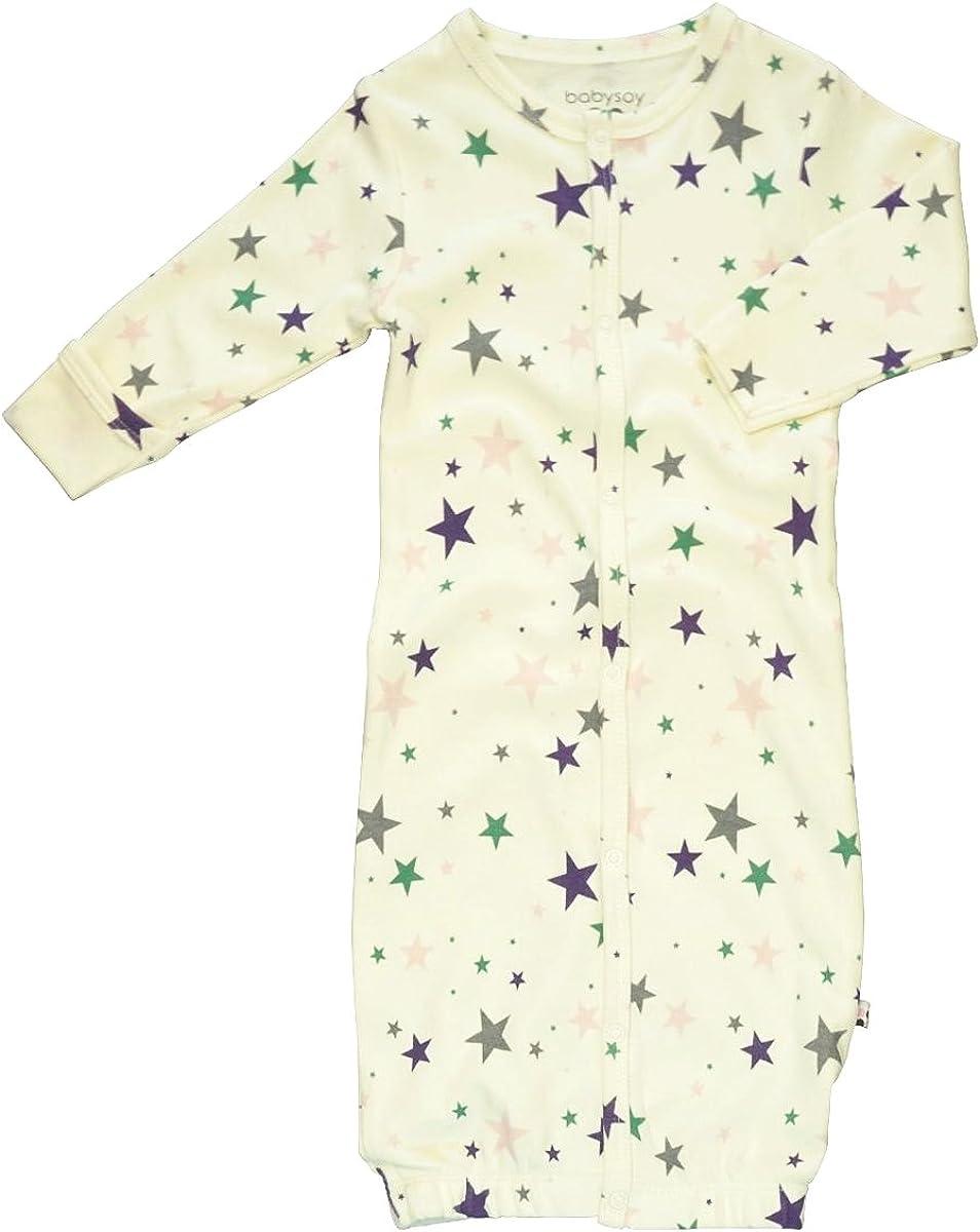 Babysoy Star Pattern Gown/Bundler