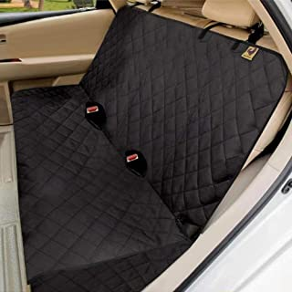 Bark Lover Waterproof Car Bench Seat Cover Protector for Dog and Kids - Heavy Duty Nonslip Chemical-Free Rear Seat Cover L...