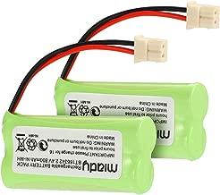 Miady BT183342 BT283342 BT166342 BT266342 BT162342 BT262342 Battery Compatible with VTech CS6114 CS6419 CS6719 AT&T EL52300 CL80112 VTech CS6719-2 Cordless Handsets (Pack of 2)