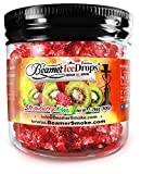 Strawberry Kiwi 50G Ultra Premium Beamer Ice Drops Hookah Shisha Smoking Gel. Each Bowl Lasts 2-4 Hours! USA Made, Huge Clouds, Amazing Taste! Better Taste & Clouds Than Tobacco!