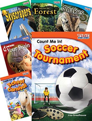 TIME FOR KIDS® Nonfiction Readers STEM Grade 2, 10-Book Set
