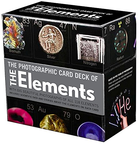 Compare Textbook Prices for The Photographic Card Deck of the Elements: With Big Beautiful Photographs of All 118 Elements in the Periodic Table Crds Edition ISBN 8601404349171 by Gray, Theodore