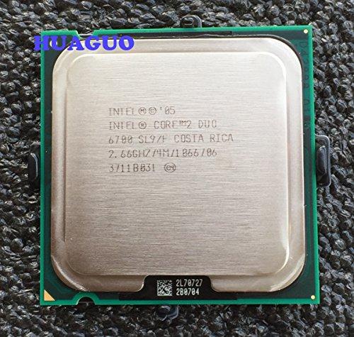 Intel Core 2Duo E67002,66GHz Dual-Core CPU Prozessor SL9S7SL9ZF LGA 7754MB Cache