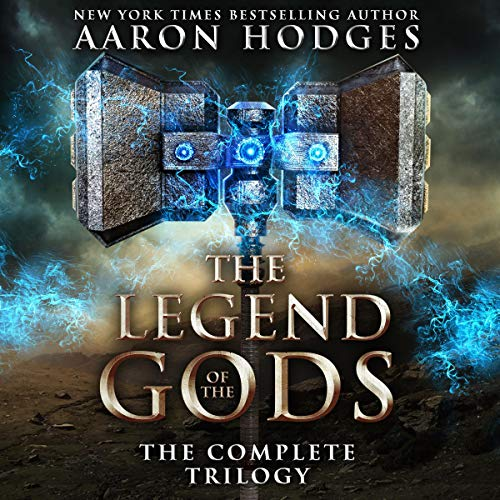 The Legend of the Gods: The Complete Trilogy audiobook cover art