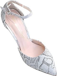Blanc Blanc Closed-Toe Pump Stiletto Heels