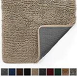 Gorilla Grip Original Durable Indoor Chenille Doormat, Absorbent, Easy Clean Inside Mats, Low-Profile Rug Doormats for Entry, Mud Room, Back Door, High Traffic Areas
