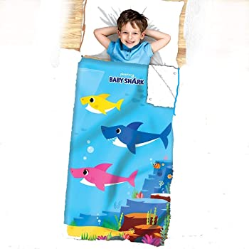 Baby Shark Kids 2-in-1 Cozy Cover and Slumber Bag