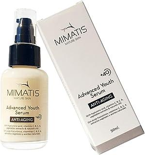 Serum Facial Para Mujer Piel Madura +40-Cara y Contorno de Ojos-Nutritivo e Iluminador-Antiarrugas-Vitamina CBEA-Ácido ...