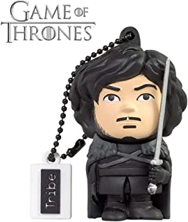 Tribe Games of Thrones Pendrive Figure 16 GB Funny USB Flash Drive 2.0, Keyholder Key Ring, Jon Snow (FD032505)