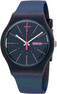 Swatch Originals Quartz Movement Blue Dial Men's Watch SUON708
