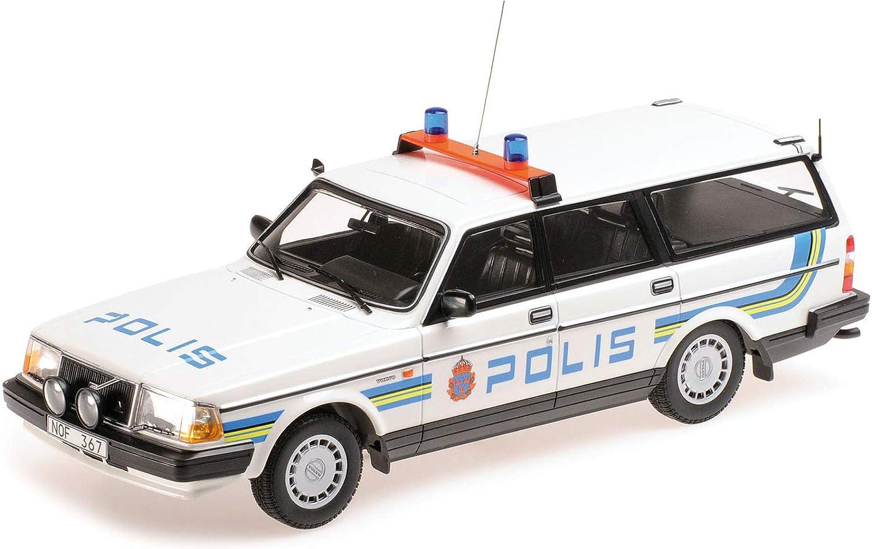 Las ventas en línea ahorran un 70%. Minichamps 155171480 - Volvo 240 GL GL GL Break 1986 Polis Sweden - Escala 1 18 - Vehículo en Miniatura  al precio mas bajo