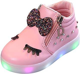 WINJIN Chaussures bébé Enfants Bottes Sports Chaussures Enfant en Bas âge Bébé Fille Baskets Infant Girls Paillettes Brill...