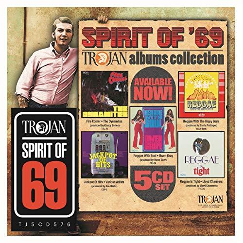 Varios - Spirit Of 69: The Trojan Albums Collection (5 CD)