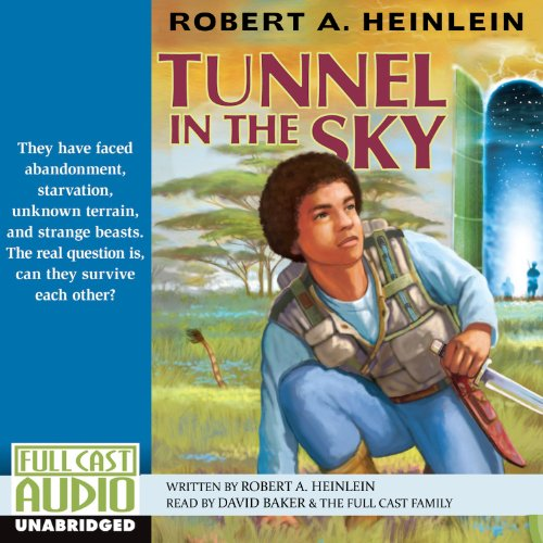 Tunnel in the Sky audiobook cover art